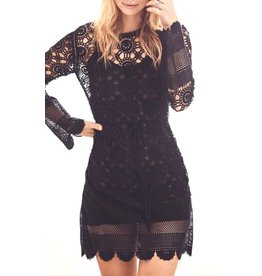 Love Shack Fancy Sasha Lace Dress