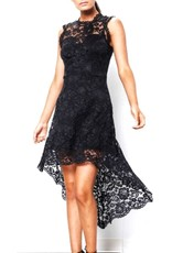 Creator Lace Unbalanced Dress