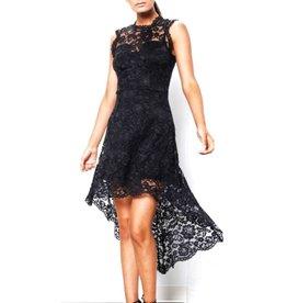 Creator Lace Unbalanced Dress