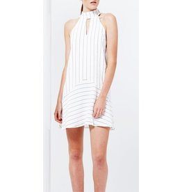 Romance Stripe Mini Dress