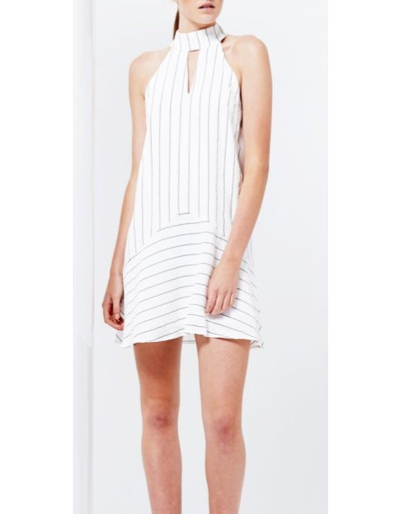 Romance Stripe Mini Dress