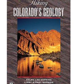 Mountaineers Publishing Hiking Colorado's Geography