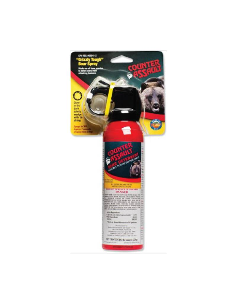 Counter Assault Bear Spray 8.1oz