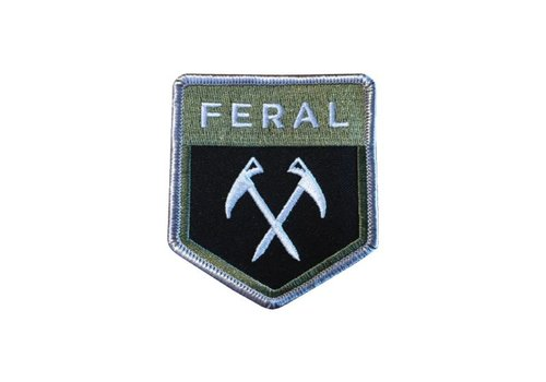 FERAL FERAL Shield Embroidered Patch