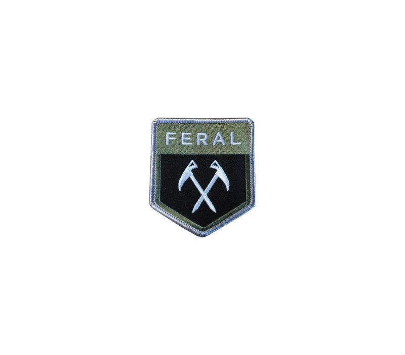 Feral Embroidered Patch