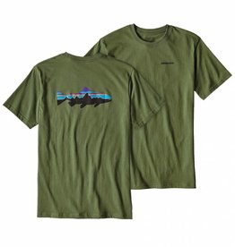 Patagonia Patagonia Men's Fitz Roy Trout Cotton T-Shirt
