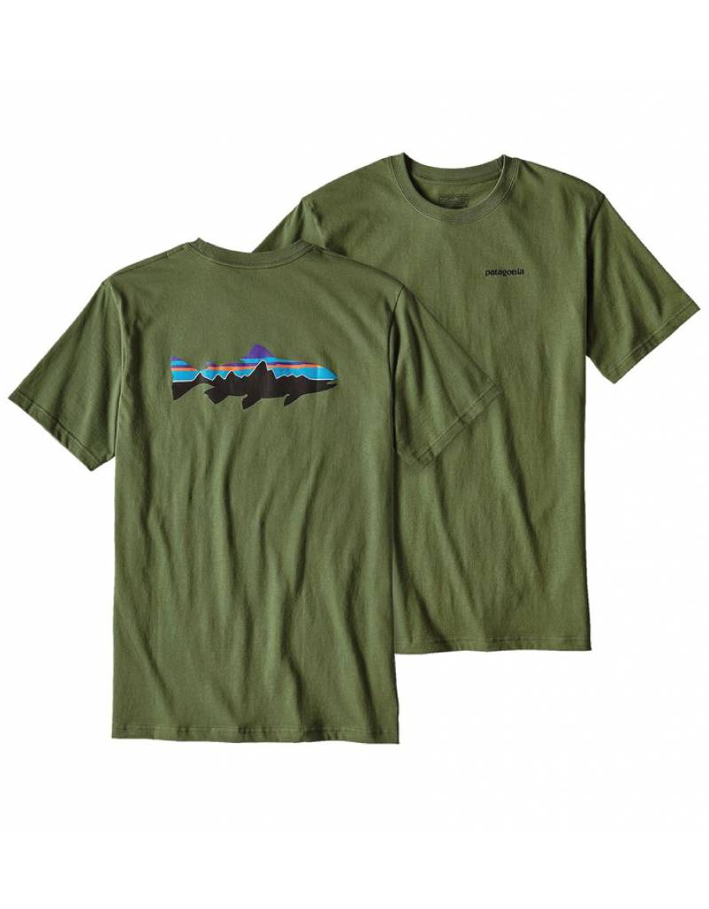 Patagonia Patagonia Men's Fitz Roy Trout Cotton T-Shirt