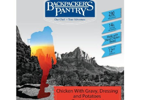 Backpacker's Pantry Chicken with Gravy, Dressing and Potatoes