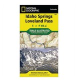 National Geographic National Geographic 104: Idaho Springs | Loveland Pass Map