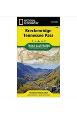 National Geographic National Geographic 109:  Breckenridge | Tennessee Pass Map