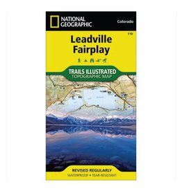 National Geographic National Geographic 110: Leadville | Fairplay Map
