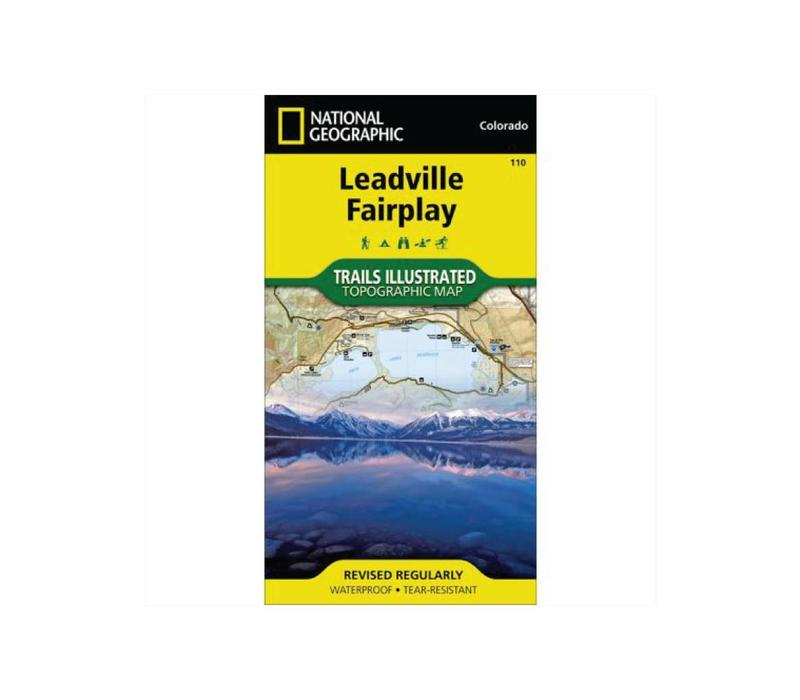 National Geographic 110: Leadville | Fairplay Map