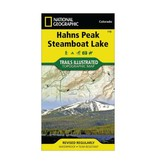 National Geographic National Geographic 116: Hahns Peak | Steamboat Lake Map