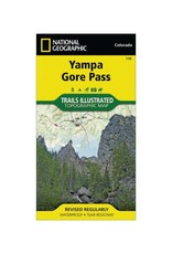 National Geographic National Geographic 119: Yampa | Gore Pass Map