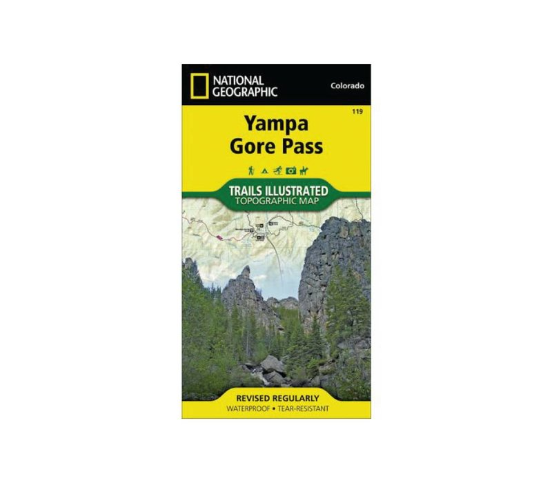 National Geographic 119: Yampa | Gore Pass Map