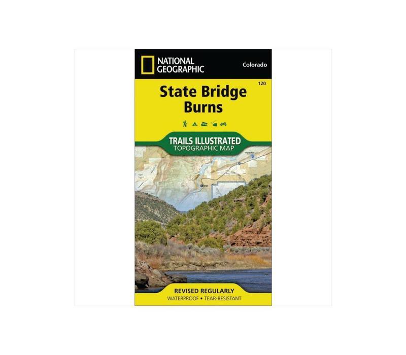National Geographic 120: State Bridge | Burns Map