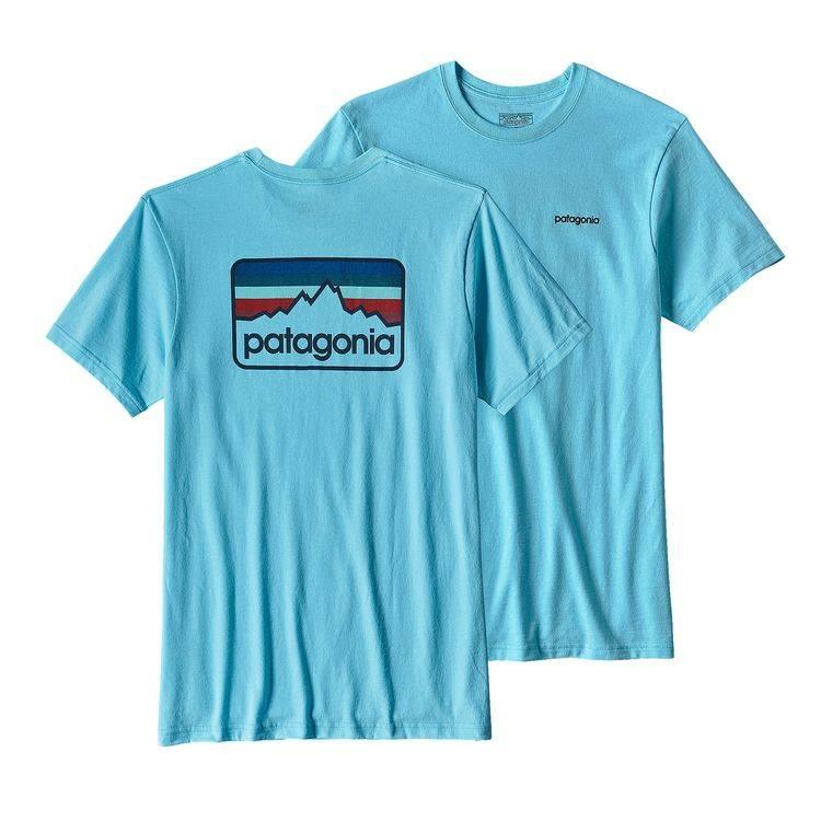 Patagonia Patagonia Men's Line Logo Badge Cotton/Poly Responsibili-Tee