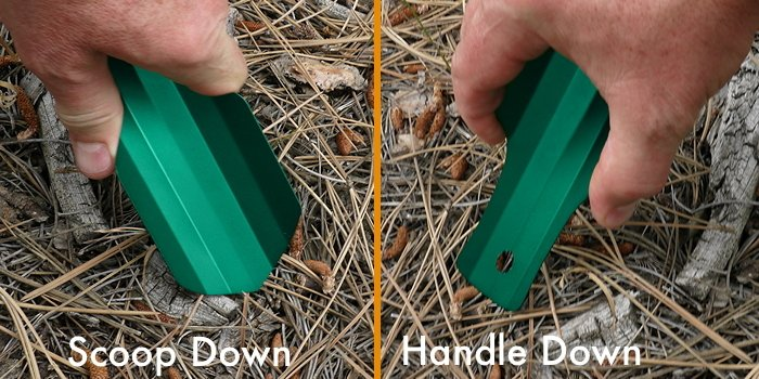 TentLab Deuce of Spades Trowel