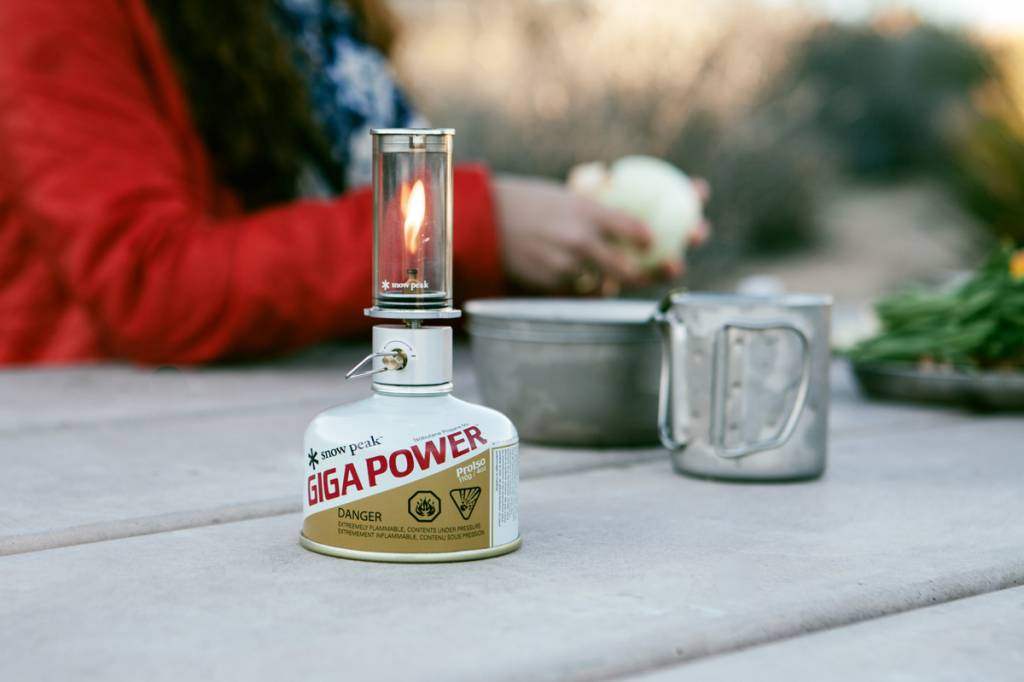 Snow Peak Snow Peak Mini Flame Nocturne Lantern
