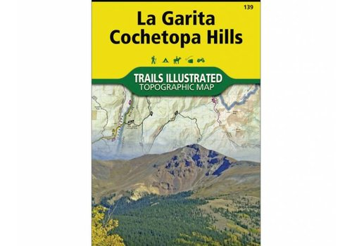 National Geographic National Geographic 139: La Garita | Cochetopa Hills Map