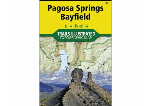 National Geographic National Geographic 145: Pagosa Springs | Bayfield Map