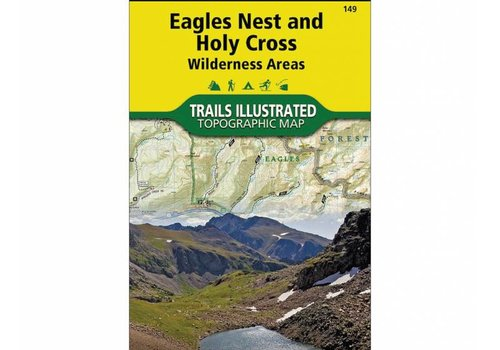 National Geographic National Geographic 149: Eagles Nest | Holy Cross Map