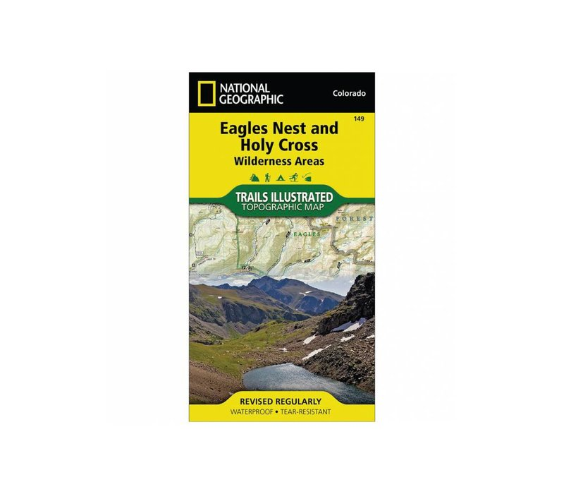 National Geographic 149: Eagles Nest | Holy Cross Map