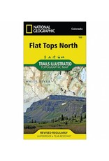 National Geographic National Geographic 150: Flat Tops North Map