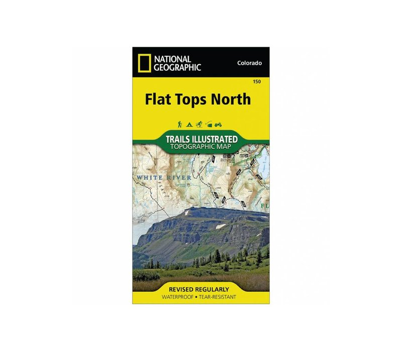 National Geographic 150: Flat Tops North Map