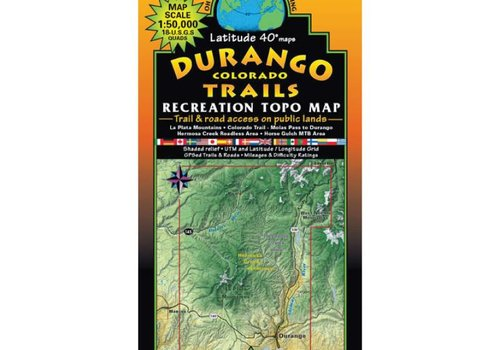 Latitude 40 Durango Map