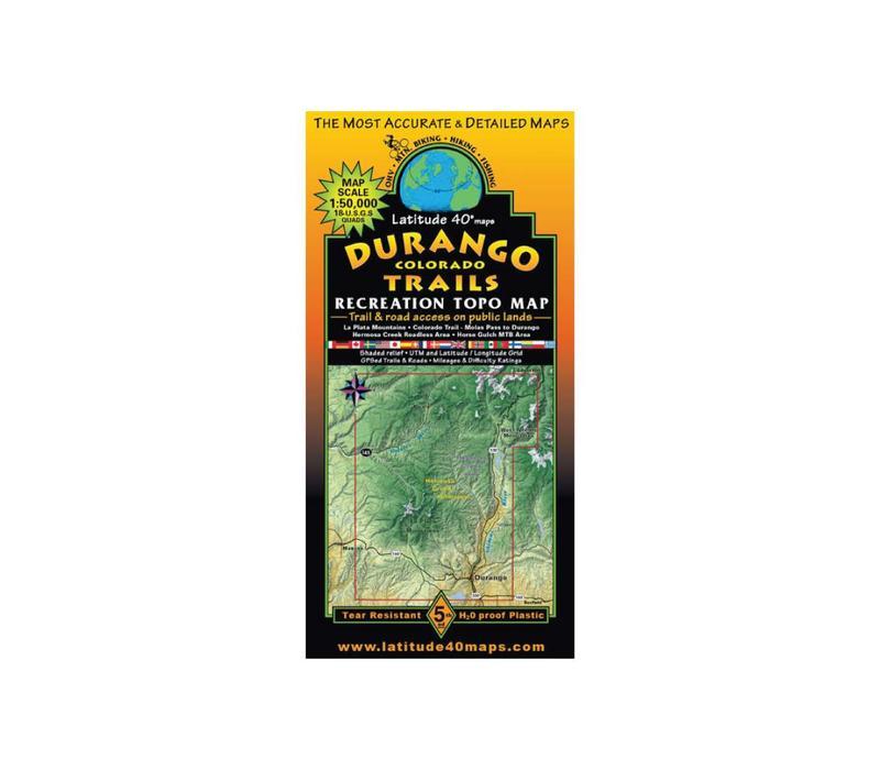 Latitude 40 Durango Map