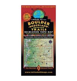 Latitude 40 Boulder | Nederland Map