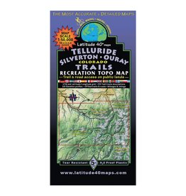 Latitude 40 Latitude 40 Telluride | Silverton | Ouray Map