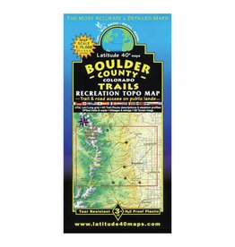 Latitude 40 Boulder County Map