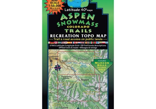 Latitude 40 Aspen | Snowmass Map