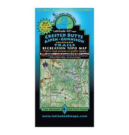 Latitude 40 Crested Butte | Taylor Park Map
