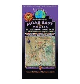 Latitude 40 Latitude 40 Moab East Map