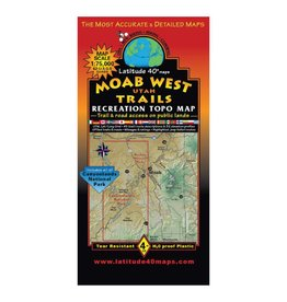 Latitude 40 Moab West Map