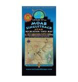Latitude 40 Latitude 40 Moab Singletrack Map