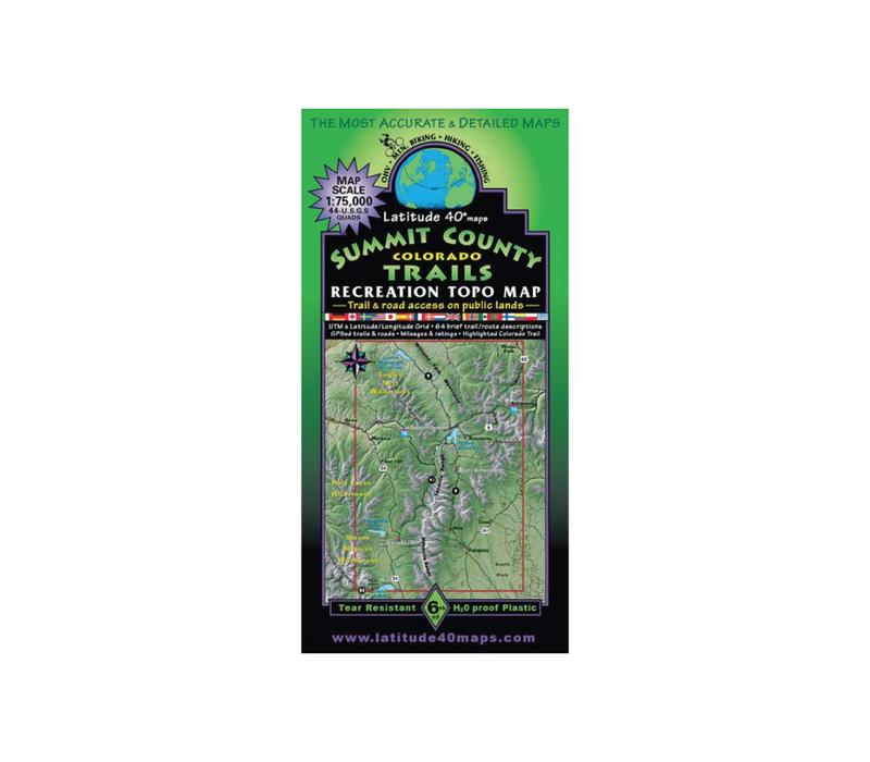 Latitude 40 Summit County Map