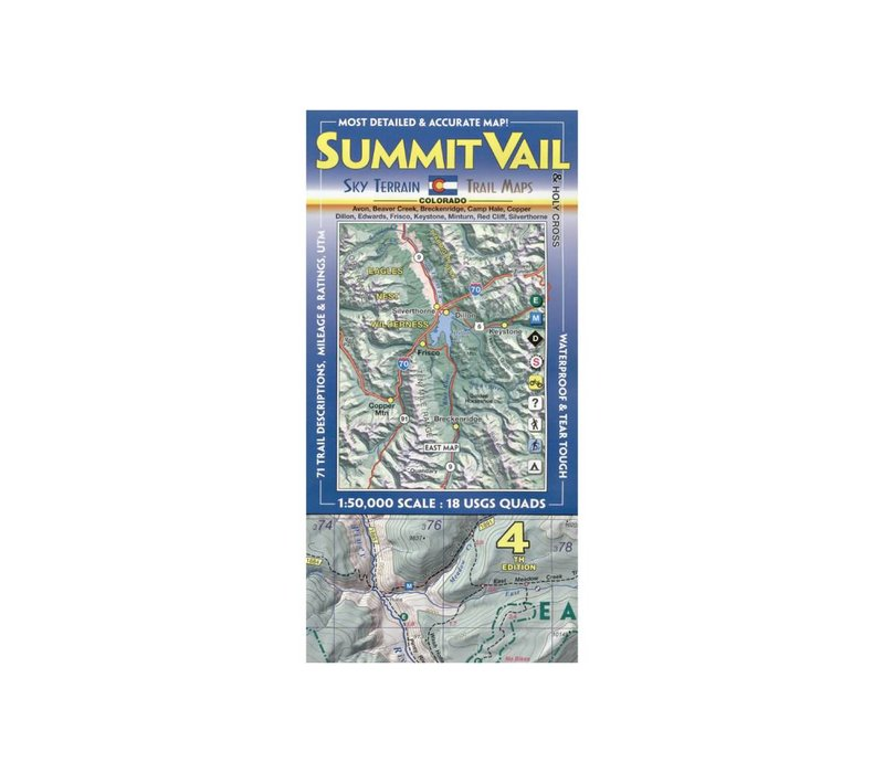 Sky Terrain Summit | Vail | Holy Cross Map