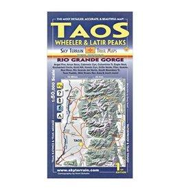 Sky Terrain Sky Terrain Taos | Wheeler | Latir Peaks Map