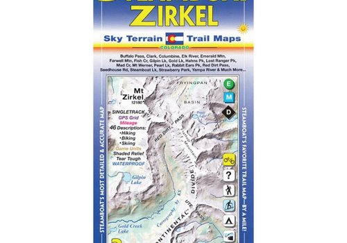 Sky Terrain Sky Terrain  Steamboat Springs | Mt Zirkel Map