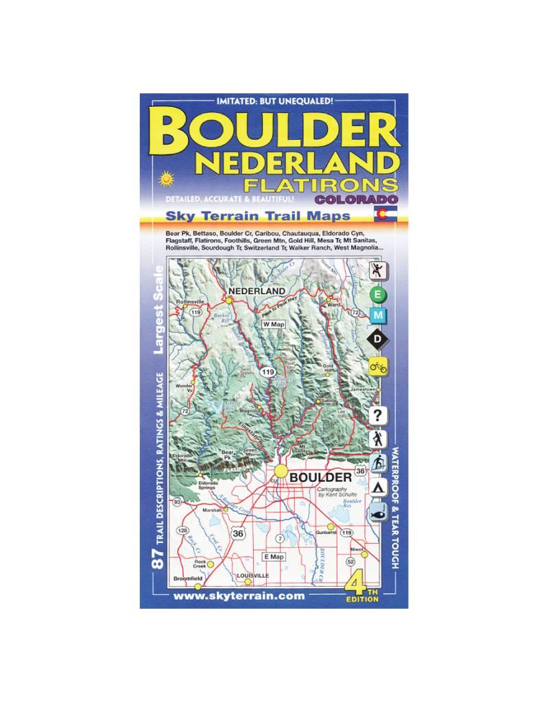 Sky Terrain Sky Terrain  Boulder | Nederland Map