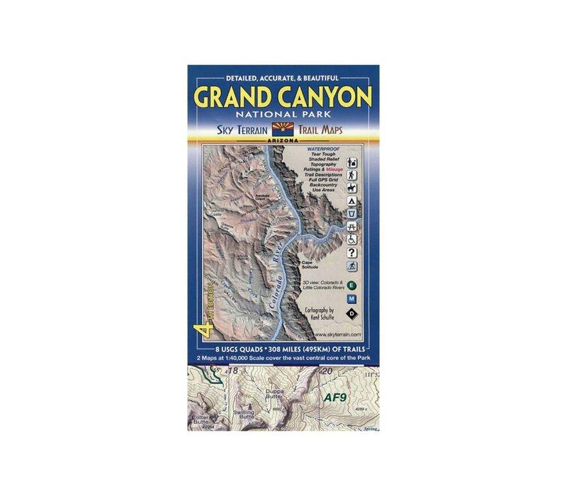 Sky Terrain Grand Canyon Trail Map
