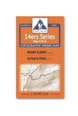 Outdoor Trail Maps Outdoor Trail Maps 14er Series : Mt. Elbert | La Plata Map