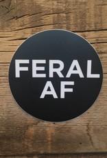 Feral Feral AF Sticker