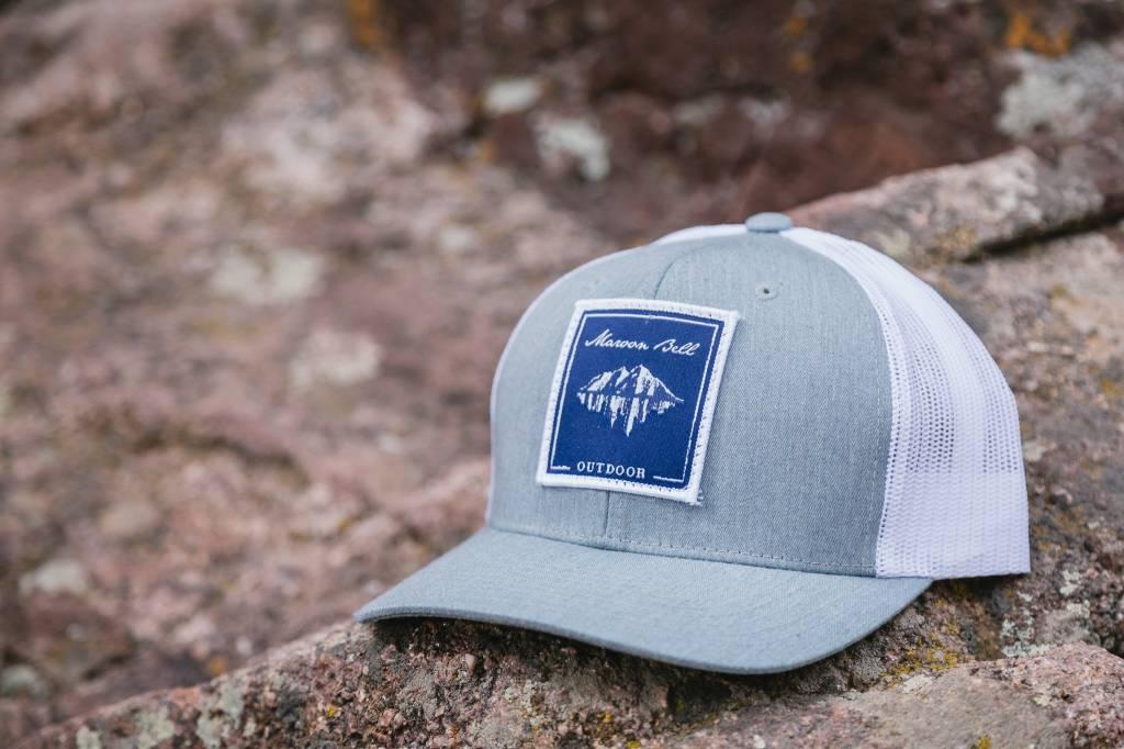 Maroon Bell Outdoor Maroon Bell Outdoor Trucker Hat