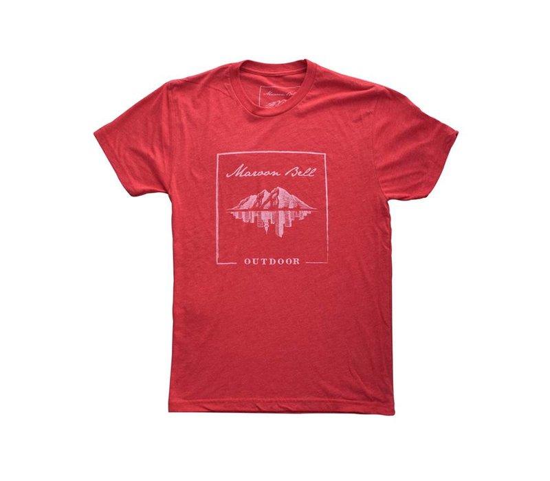 Maroon Bell Outdoor Unisex Logo T-Shirt