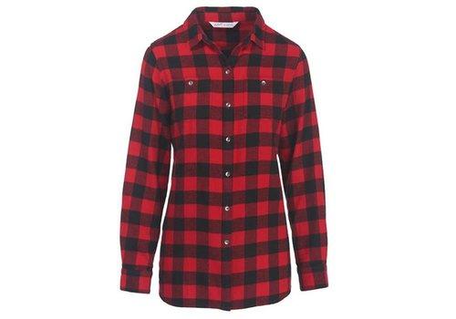 Woolrich Woolrich Women's Pemberton Boyfriend Tunic Flannel Shirt